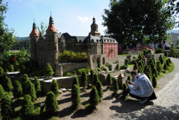 Kowary Atrakcja Muzeum Park Miniatur Zabytków Dolnego Śląska
